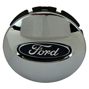 Oem New Ford Wheel Cover Center Cap F 150 Taurus Chrome Clad Blue Oval Explorer