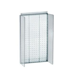New Retails Clear Pegboard Powerwing Display 13 5 w X 22 high