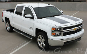 2014 2015 Chevy Silverado 1500 Rally 3m Vinyl Decal Graphics Detailing Stickers