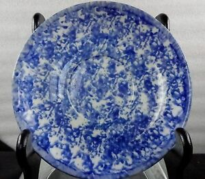 Unusual Perhaps Chinese Perhaps American Spatter Ware Porcelain Plate
