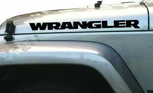 Jeep Wrangler Vinyl Decal Sticker Emblem Logo Graphic X 2
