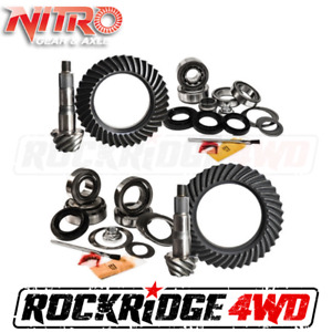 Nitro 4 88 Ratio Ring Pinion Gear Change Package For 07 18 Toyota Tundra 5 7l