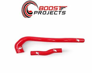 Mishimoto For 01 05 Lexus Is300 Red Silicone Turbo Hose Kit Mmhose Is300 01rd