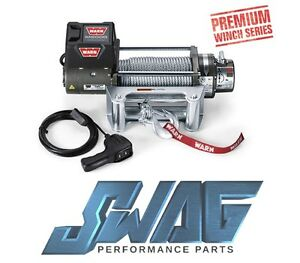 Warn M8000 Series 8 000lb Recovery Winch Jeep Truck Suv 100 Ft Steel Wire