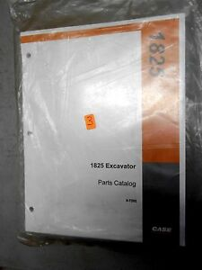 New Case 1825 Uni Loader Skid Steer Parts Catalog Manual Bur 8 7252