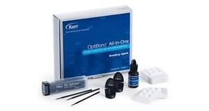 Optibond All In One Bottle Kit By Kerr 33381 Self etch Dental Adhesive new