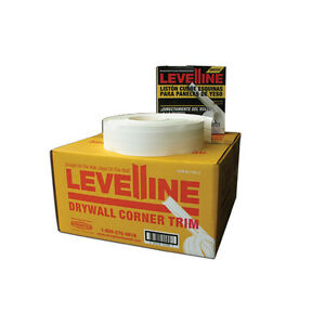 Levelline Drywall Flexible Corner Trim Tape For Off Angles 100 Roll Dispenser