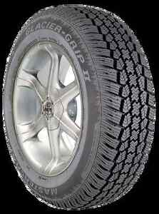 1 New 205 70 14 Mastercraft Glacier Grip Ii Snow Tire 03814