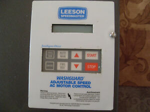 Leeson Speedmaster 174752 00 Adjustable Speed Ac Motor Control 20hp