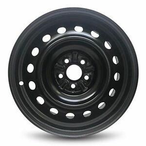 New Replacement 16 X 6 5 Inch Steel Wheel Rim Black For Pontiac Vibe 2009 2010