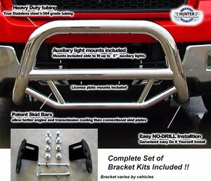 2009 2018 Ford F150 Super Bull Bar In Stainless Steel Chrome Push Bar