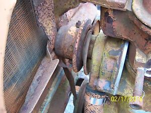 Ac Allis Chalmers B C Maybe Ca Tractor Engine Cooling Water Pump And Fan