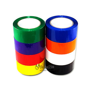 2 In X 55 Yds Color Carton Sealing Packing Tape 9 Colors Available