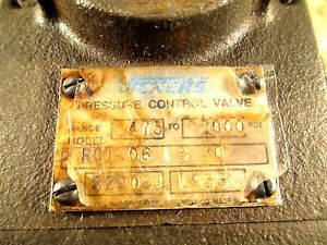 Vickers Hydraulic Pressure Control Valve Rct 06 F3 30 475 2000