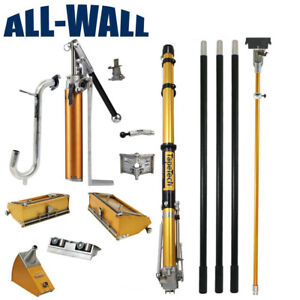 Tapetech Full Set Drywall Taping Tools W taper 7 10 Boxes Corner Tools Pump