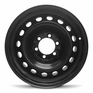New Steel Wheel Rim Fits 2007 2014 Toyota Fj Cruiser 17x7 5 Inch Black Wheel
