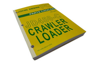 John Deere Jd450 c Crawler Loader Master Parts Catalog Manual Book Jd 450 c 450c