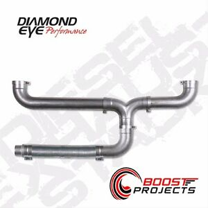 Diamond Eye 5 Aluminized Universal Diesel Dual Exhaust Stack Kit 150100