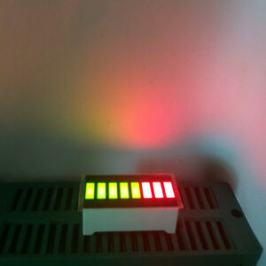 5pcs 8 Segment Led Bargraph Modules Bi color Green Red Bar graph Led Display
