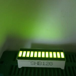 5pcs Led Display 12segments Bar graph Yellow Green 12bargraph Bar graph Modules