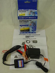 Automatic 12v Battery Float Charger Maintainer 12 Volt Polaris Atv Snowmobile