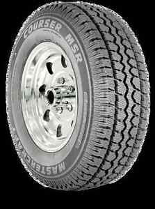 1 New 255 70 18 Mastercraft Courser Msr Mud Snow Tire 90000005724