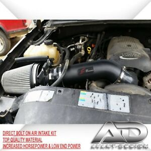 99 06 4 8l 5 3l 6 0l V8 Silverado 1500hd Gmc Sierra Af Dynamic Cold Air Intake