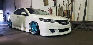 Front Lip Mugen Style Body Kit For Honda Accord 8 Acura Tsx Cu 2008 2010