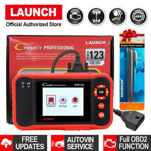 Abs Airbag Srs Reset Car Scanner Diagnostic Tool Obd2 Launch Auto Code Readers