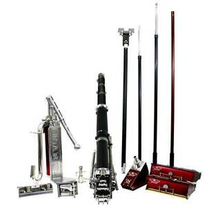 Full Drywall Taping Tool Set W Columbia Taper Angle Head 10 12 Boxes Roller