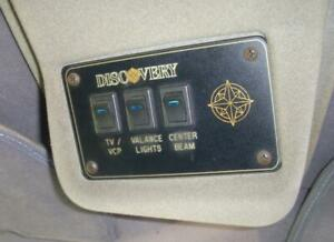 1999 Custom Sherry Design Conversion Van Discovery 12v 3 Switch Control Panel