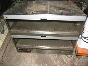 Hatco Grsds 36d Countertop Merchandiser Warmer Display 36