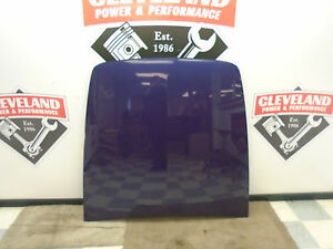 03 06 Chevrolet Ssr Oem Tonneau Cover Bed Panel Purple Dented