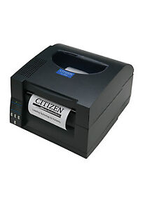 Citizen Cl s521 Direct Thermal Bar Code Printer 4 Inch Max 203 Dpi With Cut