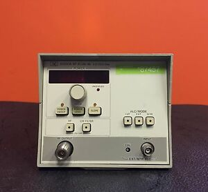 Hp agilent 83590a 2 To 20 Ghz 10 Mw Max Type N Output Sweep Generator Module