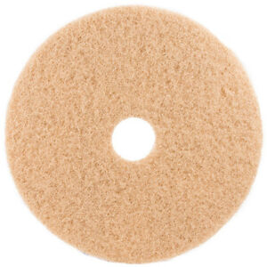Tan Floor Pads 15 Floor Buffer Polisher Buffing Pads 1 Thick 5 Pack