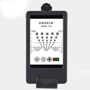 8mi Double side Led Optical Visual Chart Lamphouse Optometry Tester Vision Chart