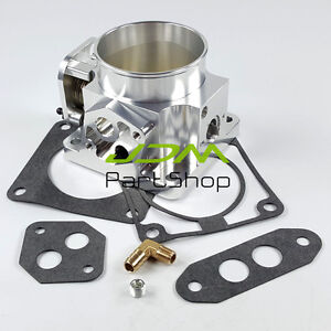 Performance Billet Aluminum 75mm Throttle Body For Ford Mustang Gt Cobra Lx 5 0l
