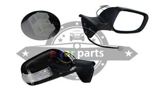 Toyota Corolla Zre152 10 2009 2012 Hatch Right Side Door Mirror Elec Led fold