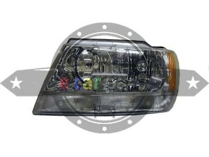 Jeep Grand Cherokee Wj Wg 6 1999 2004 Headlight Left Hand Side
