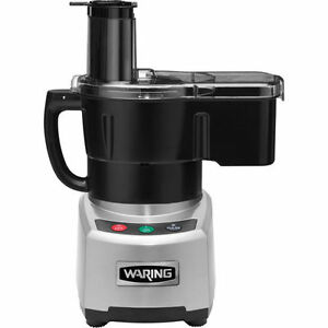 Waring Combination 4qt Commercial Heavy Duty Food Processor W Dicer New