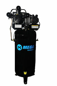 5 Hp 60 Gallon Single Stage Air Compressor 18 2 Cfm Free Shipping 1 Phase