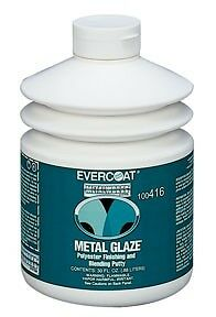 Lot Of 6 Evercoat 100416 Metal Glaze Polyester Finishing And Blending Putty