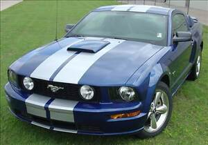 Gt 10 Racing Stripes For Hood Scoop 3m Vinyl Graphic For Ford Mustang 2005 2009