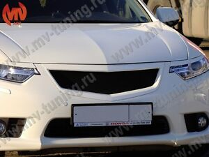 Front Grill Sport Eyelids For Honda Accord Cu2 Acura Tsx 2011 2012 2013