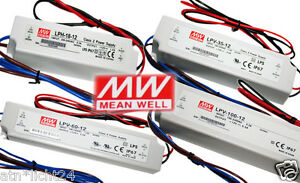 Led Smd Meanwell 100v 240v 230v Ac Output 12v Dc Ip67 Switching Power Supply