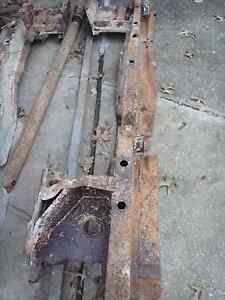 Mopar 1962 B Body Dodge Dart Rear Frame Rail Drivers Side Plymouth Max Wedge