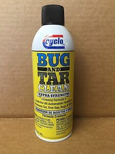 Genuine Extra Strength Cyclo Bug And Tar Remover Spray C 64 Free Priority