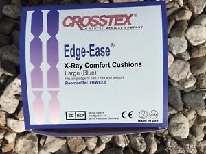 Dental X ray Comfort Cushion Edge ease Crosstex Large Blue 300ct bweeb