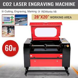 20 X 28 60w Co2 Laser Engraving Machine Laser Engraver Cutter W usb Interface